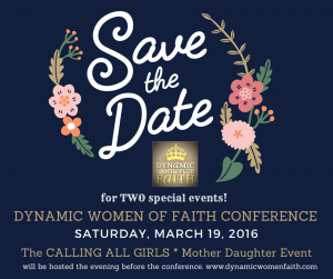 Dynamic Women of Faith Conference