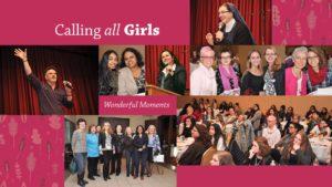 Calling All Girls. Wonderful moments