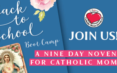 Join us! 9 Day Back to School Novena
